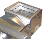горелочная часть пеллетного механизма подачи в пеллетном котле